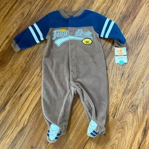 Carter's Easy-Entry Sleep & Play Outfit- NWT